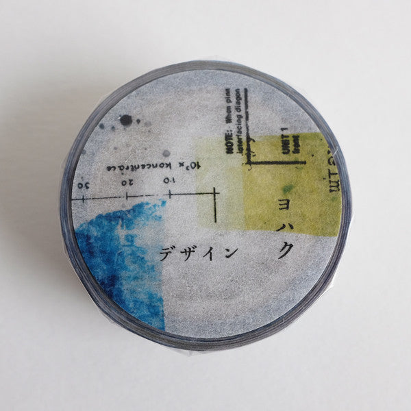 YOHAKUヨハク Collage Washi Tape - Design