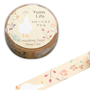 Yama Life Animal Washi Tape - Duck