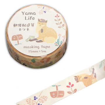 Yama Life Animal Washi Tape - Fox