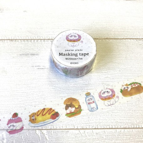 Papier Platz x Hutte Washi Tape - Food