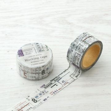 Sunny Sunday x Papier Platz Washi Tape - Combination