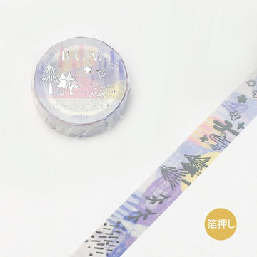 BGM Crayon Land Washi Tape - Dreamy Forest
