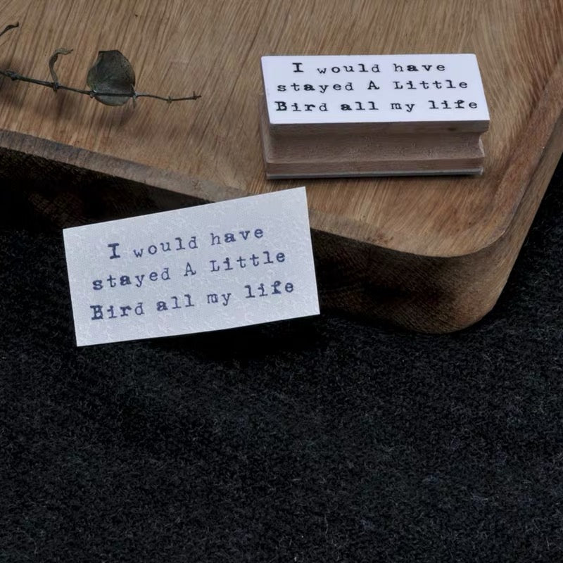 B.Book Quote of the day Rubber Stamps