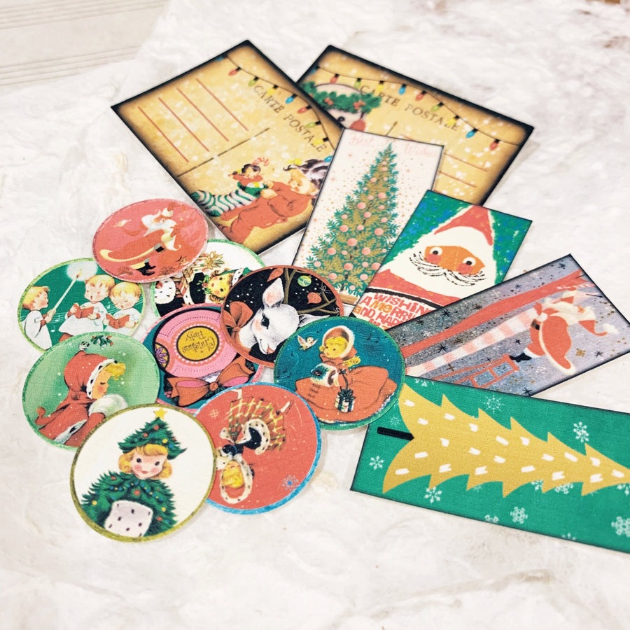 Ephemera Pack Christmas Set