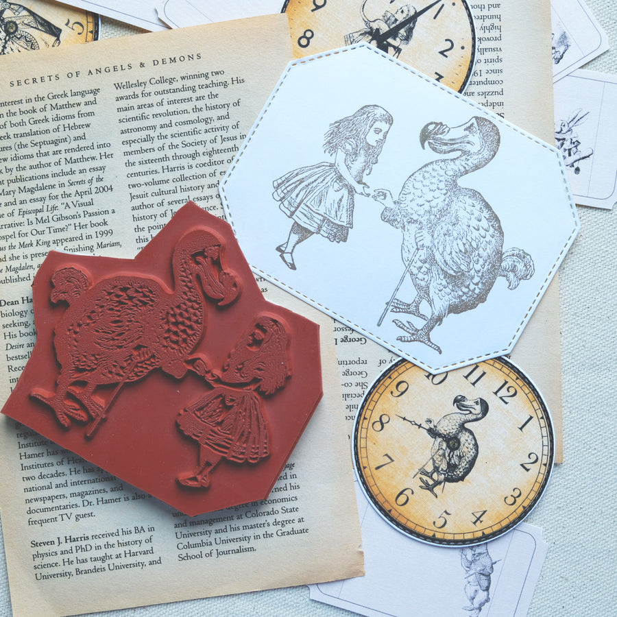 Makistamps - Alice and the Dodo