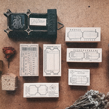 Nove Rubber Stamp Collection - JourT'aime