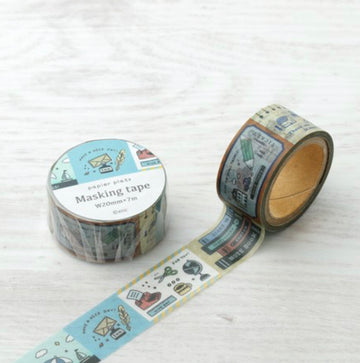 Eric x Papier Platz Washi Tape - Desk