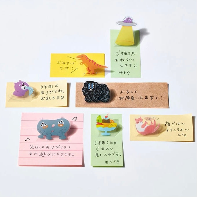HITOTOKI Pop-up Stickers - Garden