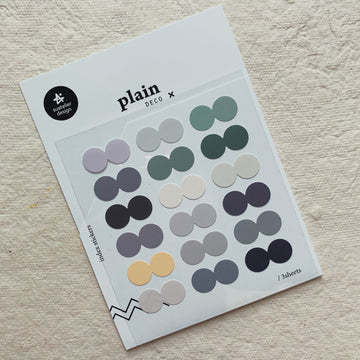 Suatelier Plain. 42 Index stickers
