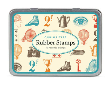 Cavallini Curiosities Rubber Stamp Set