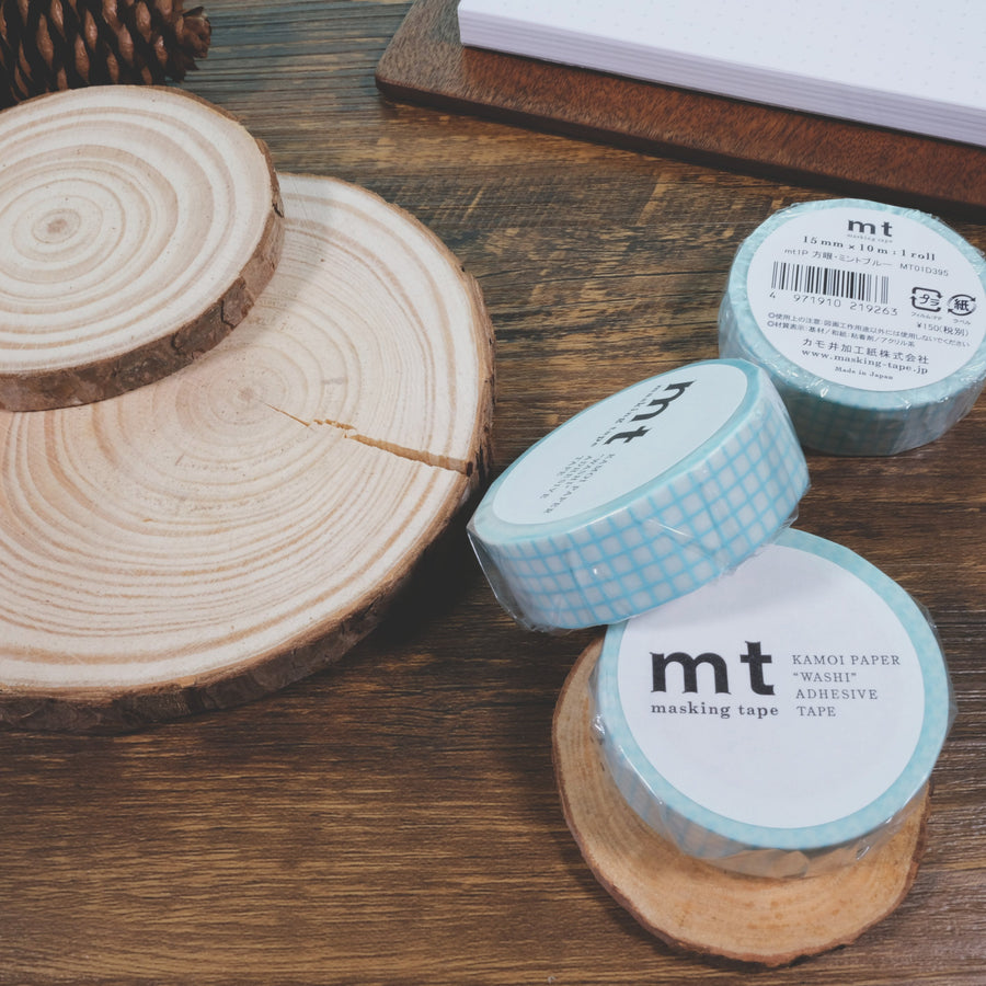 MT 1P Hougan Mint Blue Washi Masking Tape