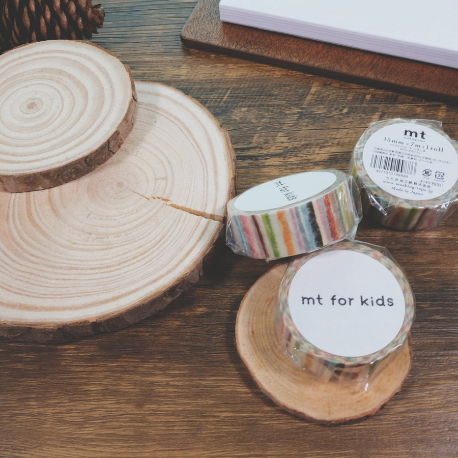 MT for kids washi Masking Tape - Shima Shima