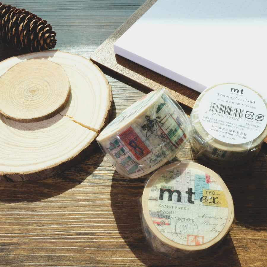 MT 'Travel Way' Washi Masking Tape