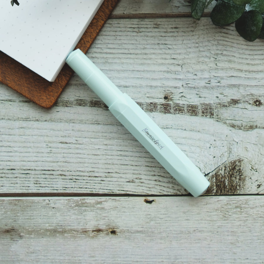 SKYLINE SPORT FOUNTAIN PEN, MINT - EF
