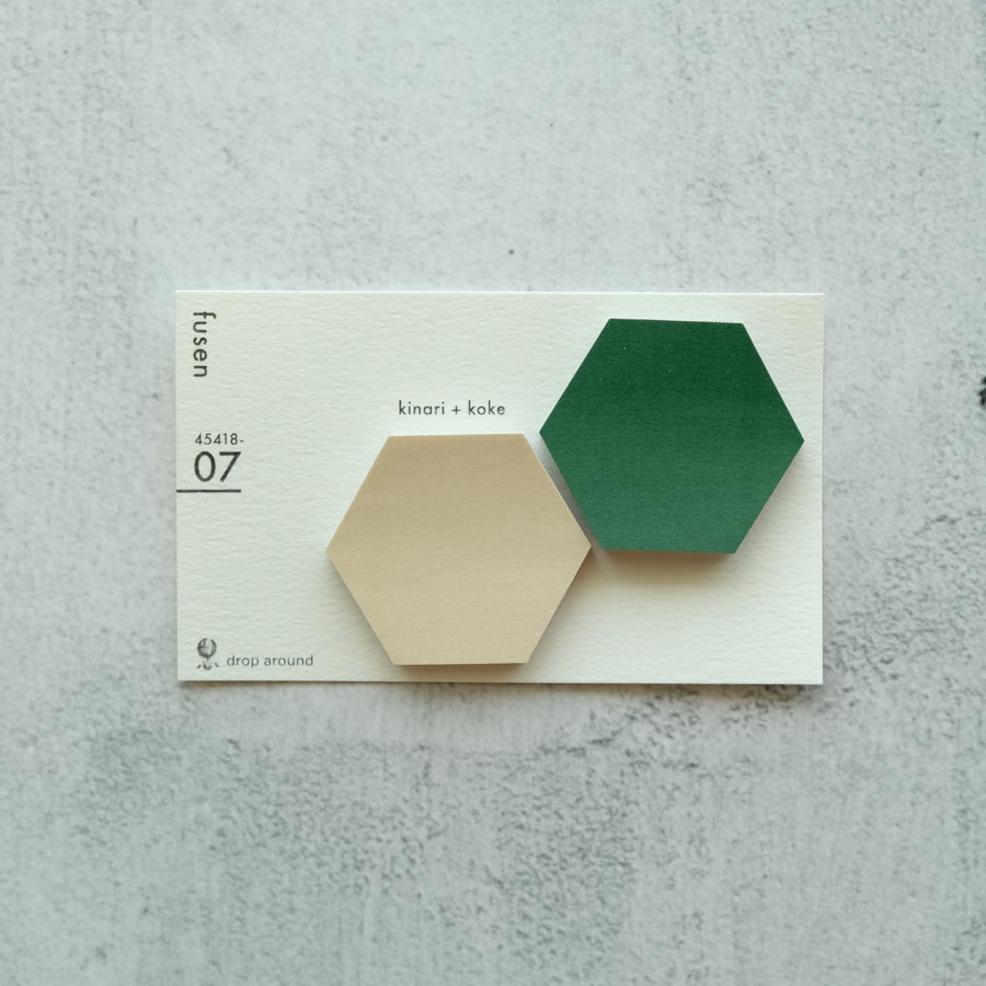 Classiky x Drop Around Geometry Sticky Notes