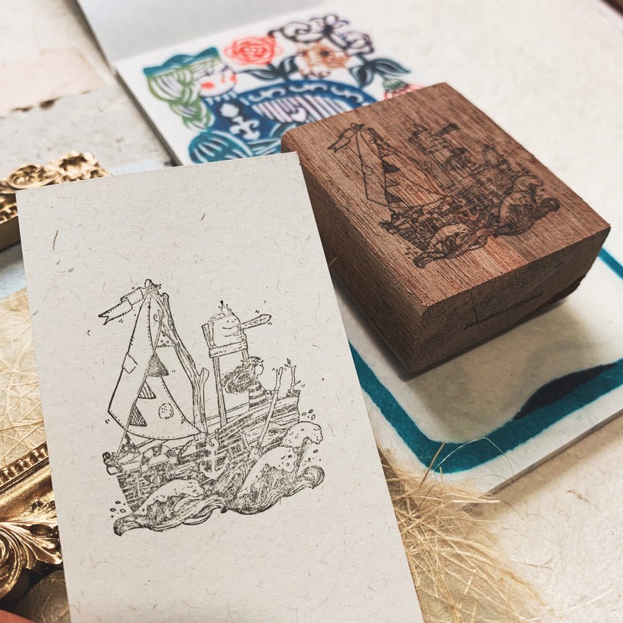 Black Milk Project Rubber Stamp - Adventure