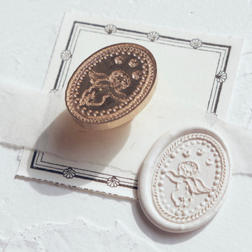 Feygu studio the Renaissance series wax seal stamp - a little angle