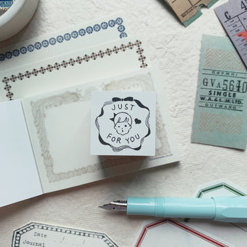 Masco Eri x Goat Rubber Stamp - Just for you