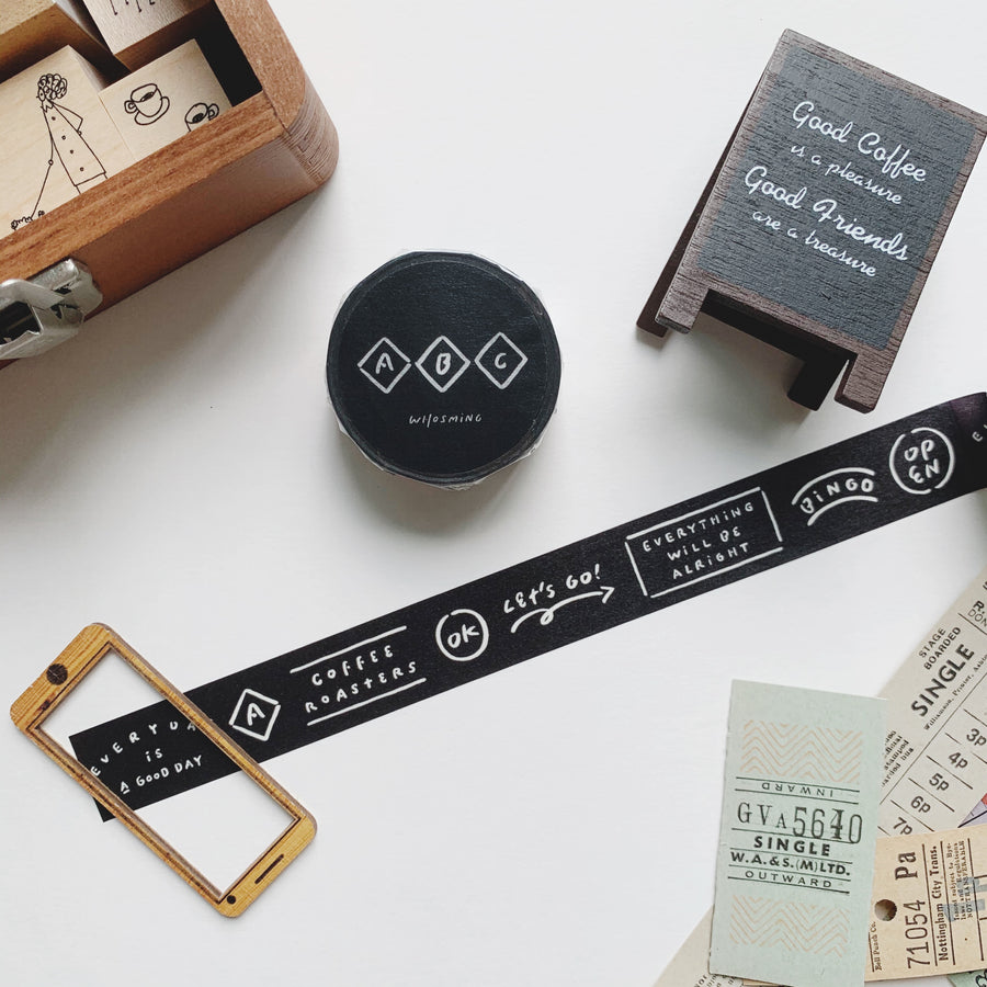 Path x WHOSMING Masking Tape - ABC