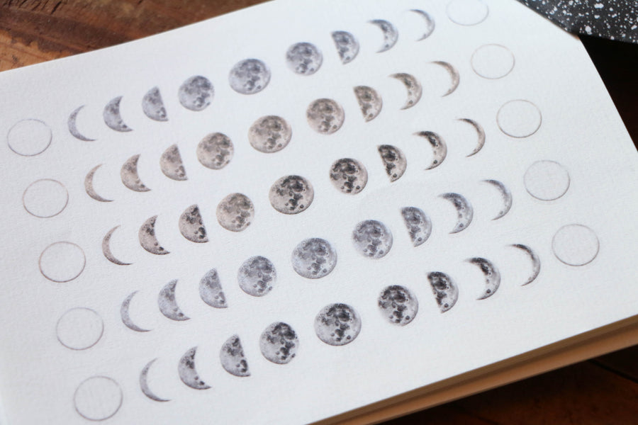 LCN Print-on stickers-Moon Phase