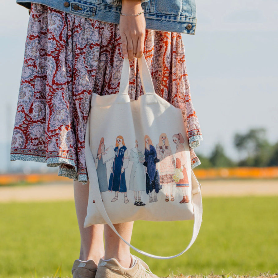LDV 'Dearest' Two Ways Canvas Bag