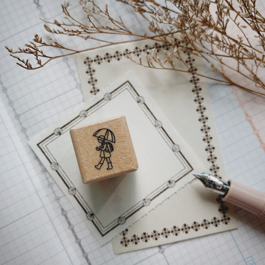 Plain Stationery Today's Rubber Stamps
