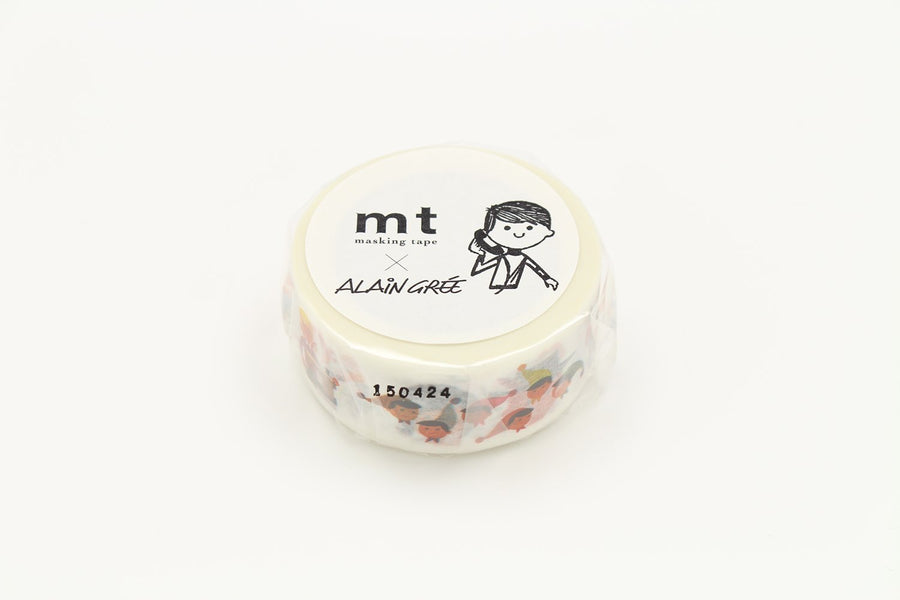MT x Alain Gree Washi Tape - Person