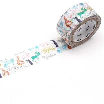 MT Christmas 2019 Washi Tape - Winter Animals