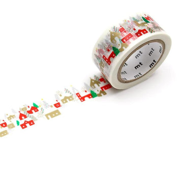 MT Christmas 2019 Washi Tape - House In the Forest