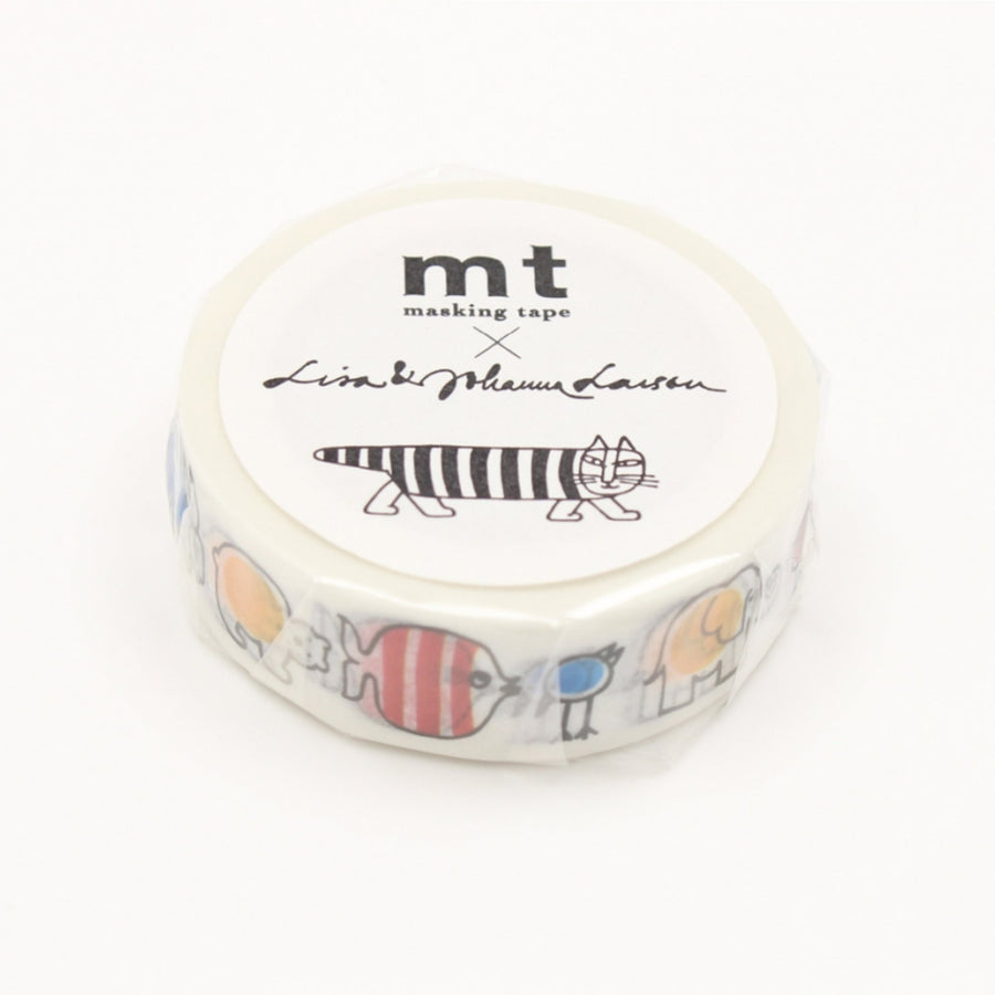 MT x Lisa Larson Washi Tape - Baby Mikey