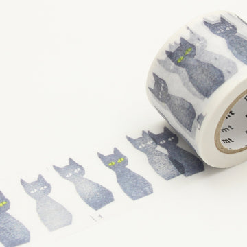 MT x Mina Perhonen Washi Tape - Kuro-Neko