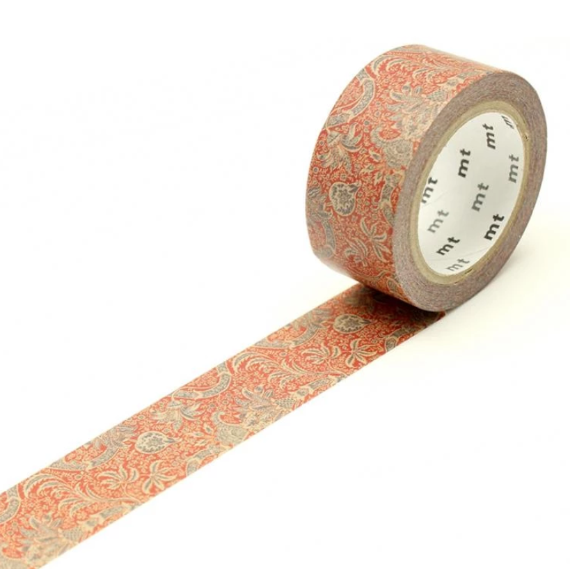 MT x William Morris Washi Tape - Indian