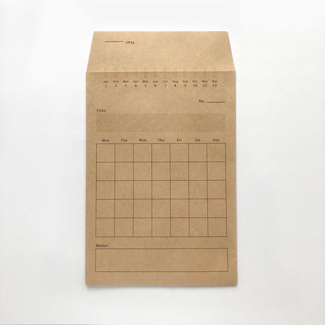 KNOOPWORKS Monthly Envelope (3 piece set)