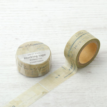 Sunny Sunday x Papier Platz Washi Tape - Paris Vintage