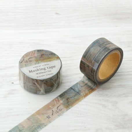 Sunny Sunday x Papier Platz Washi Tape - Smokey