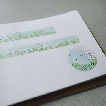 YOHAKUヨハク Collage Washi Tape - End of Summer