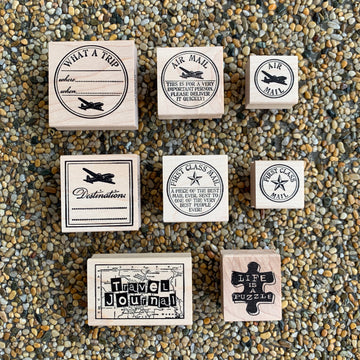 CatslifePress Rubber Stamp - Journey Series