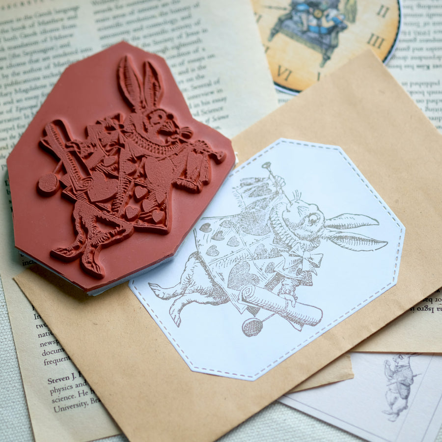 Makistamps - White Rabbit As Herald