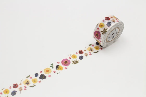 MT pack Pressed Flower washi masking tape