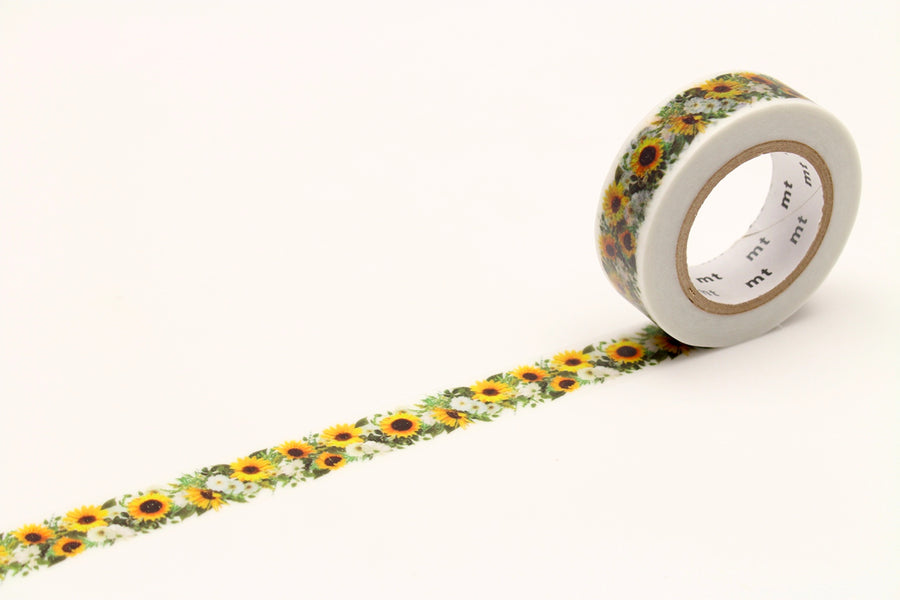 MT EX Sunflower Washi Tape