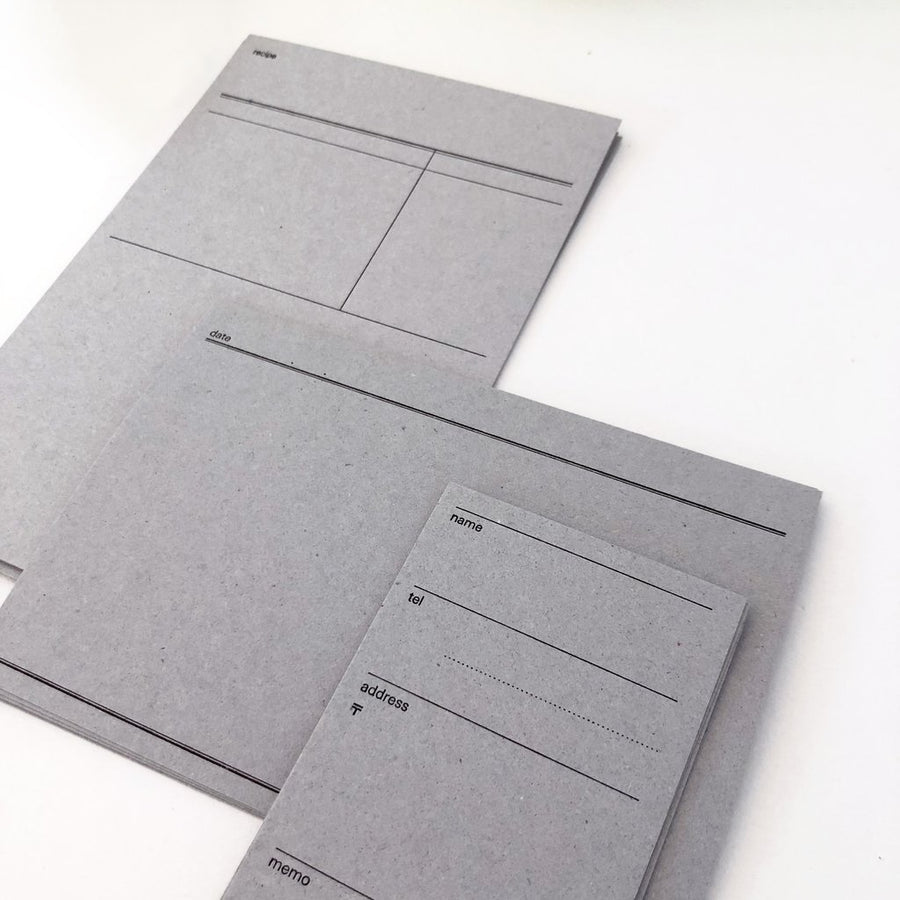 Classiky x Drop Around Letterpress Card Set