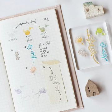 MU Clear Splice Stamp Set - Botanical