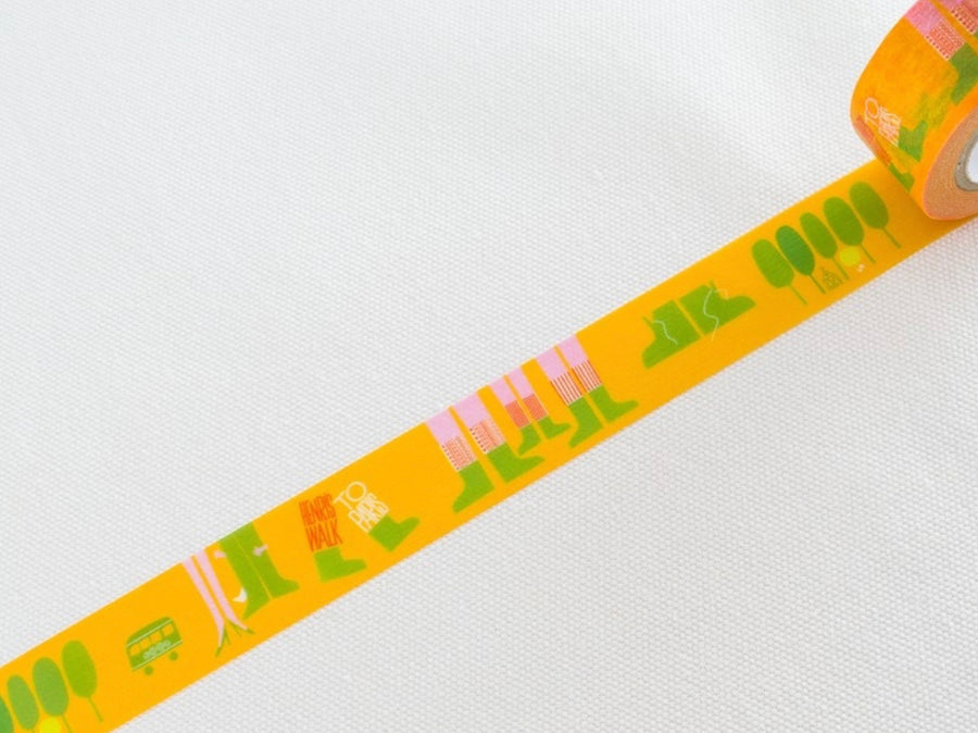 MT x Saul Bass Washi Tape - Walk