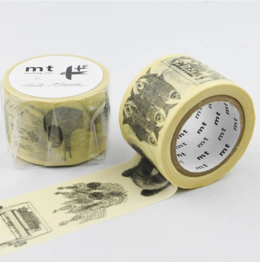 MT x Erik Bruun Washi Tape - Sketch