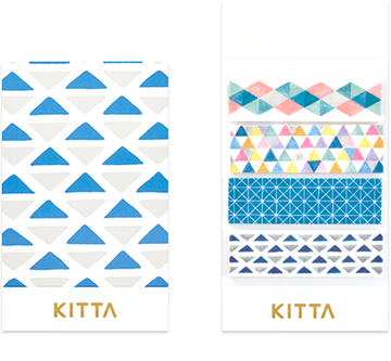 Kitta Basic washi tape - Geometry