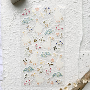 Yama Life Animal Washi Sticker Sheet - Duck
