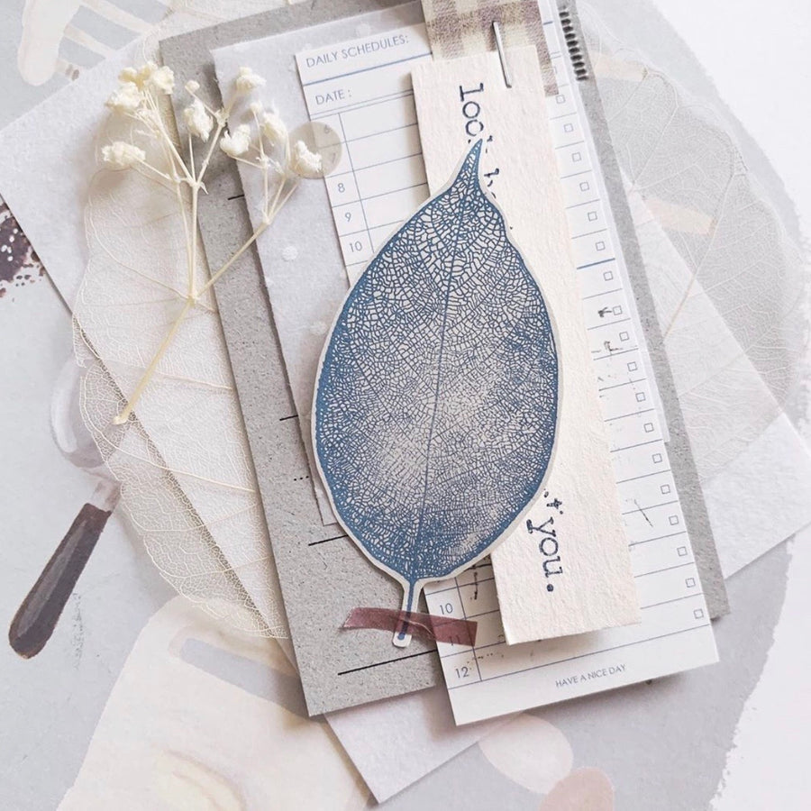 Penny.fei leaf vein Rubber stamps