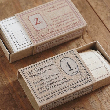 LCN Gummed label set-specimen labels Box