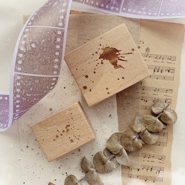 Journal Pages《Puzzles of Life》lil' bit Rubber Stamps