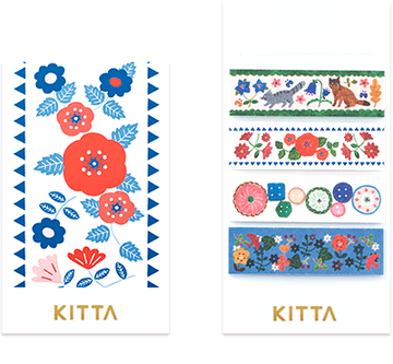 Kitta Basic washi tape - Hobby